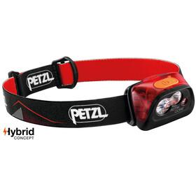 Petzl Actik Core Latarka czołowa, czerwony/czarny